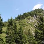 Versante sud-ovest del Colmaier