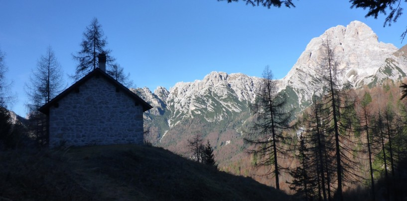 Casera Galvana e forcella Val de Forscia